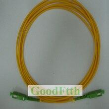 Câble de cordon de raccordement à fibres SC SC APC SC/APC SC/APC SM Simplex GoodFtth 1 15m