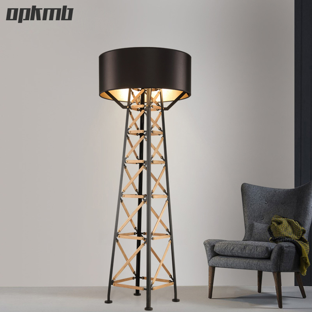 Nordic led lampade da terra Pavimento Decorativo Luce moderno ...