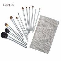 Pro 12pcs Makeup Brushes Set Pincel Maquiagem Powder Contour Blush Face Kabuki Brush Cosmetic Beauty Tools