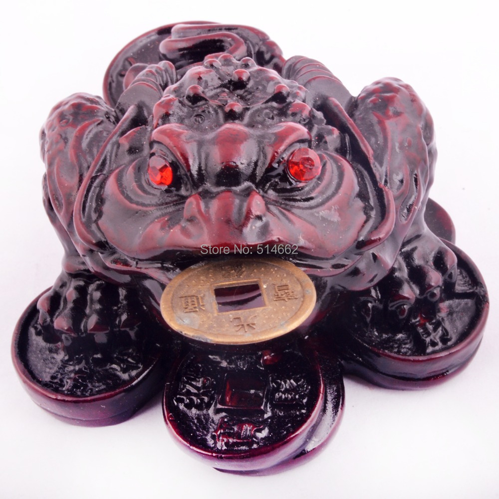 Small Fengshui Three Legged Money Frog /Fortune Toad