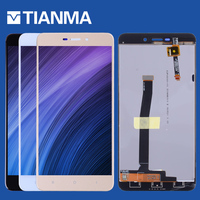 NEW 5 0 LCD For XIAOMI Redmi 4A LCD Display Touch Screen Digitizer With Frame Replacement