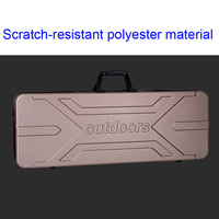 high quality Tool case long case outdoors luggage special luggage box plastic toolbox safety box suitcase with foam lining