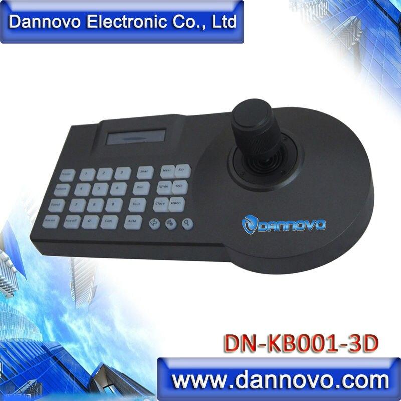 DANNOVO Tastatură 3D PTZ Controller Afișaj LCD RS485 Pentru CCTV - Echipamentele electronice de birou