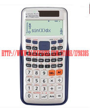 1pcs 991ES Scientific Calculator Dual Power With 417 Functions As Teacher Gift