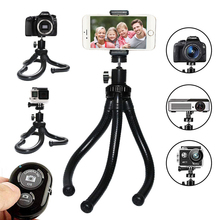 Travel Outdoor Octopus Tripod Mini Stand Flexible for GoPro Action Camera Canon Nikon DSLR iPhone X gorillapod