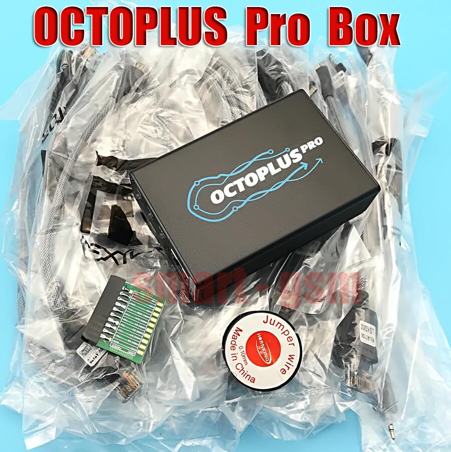 2018 Version Octoplus Pro Boîte/octoplus pro jtag Box Pour Samsung pour LG + mem/JTAG Activé) + avec 7 dans 1 Câble/Adaptateur