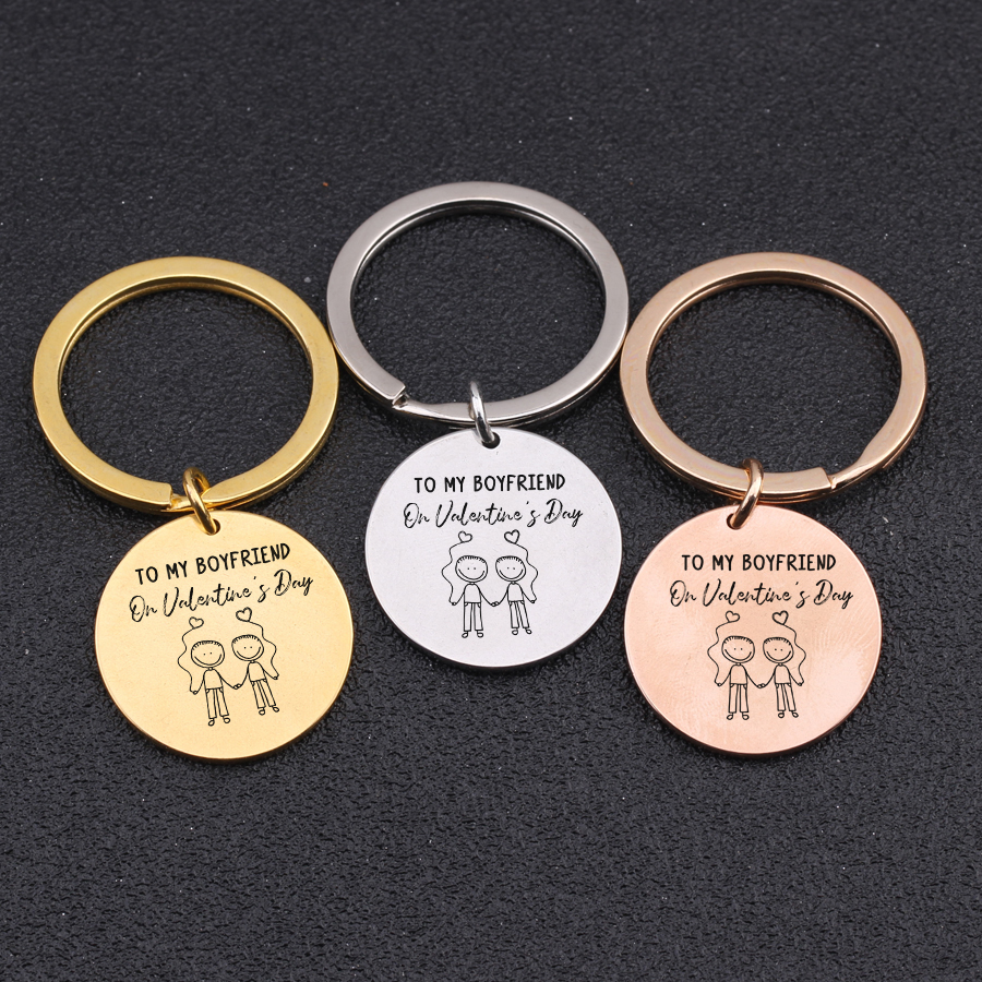 5 Reason Why I Love Personalised Key chain Valentine/'s Day Gift Photo Insert