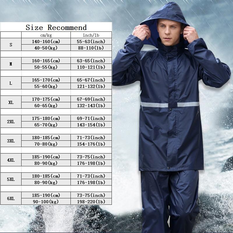 Rainfreem Doppelschicht-undurchlässiger Regenmantel Frauen / Männer - Haushaltswaren - Foto 6