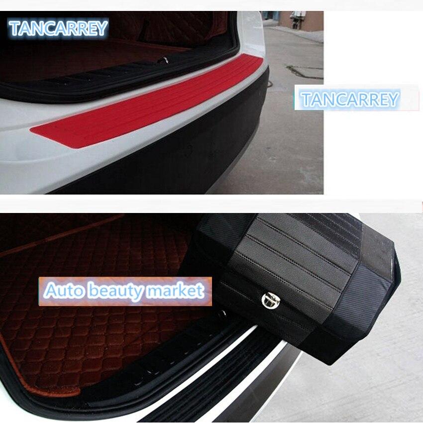 for Chevrolet Tahoe Door Sill Protector Carbon Fiber Sticker Door Entry Guard Door Sill Scuff Plate Stickers Auto Accessories 4pcs