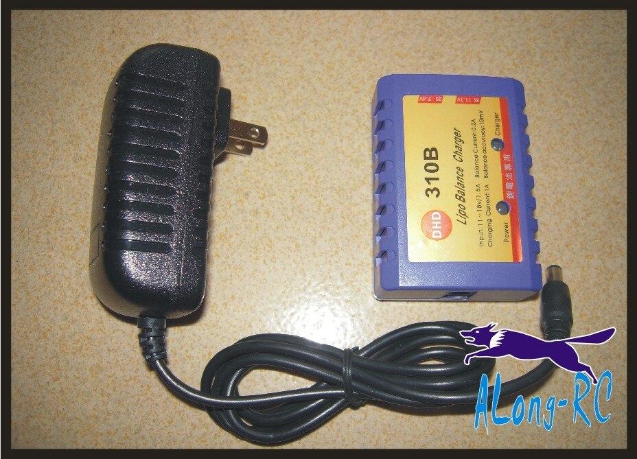 Cargador de equilibrio de batería envío gratis 2-3Cells li-po 7,4 v 11,1 v cargador 310B con el adaptador (110- 240 V) 1 Pza 3S 40A Li-ion cargador de batería de litio Placa de protección PCB BMS para Motor de perforación 11,1 V 12,6 V Módulo de célula Lipo equilibrio mejorado