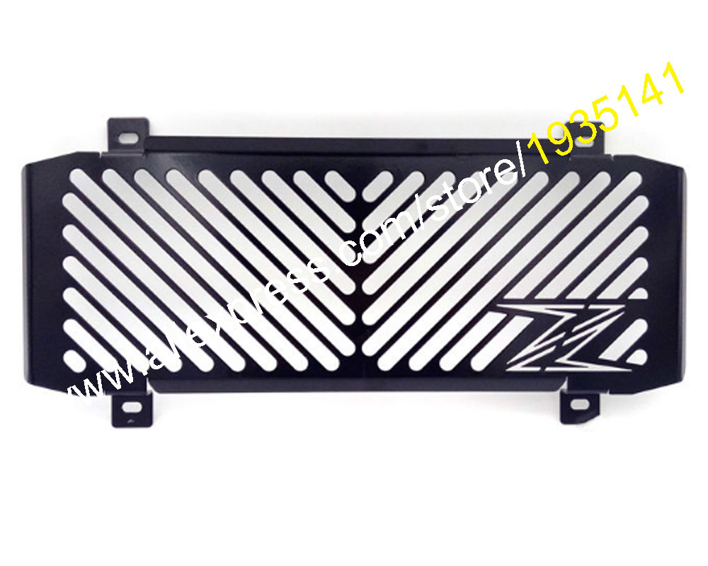 Hot Sales,Motorcycle radiator grille guard protection Water tank guard For Kawasaki Z650 2017 Z-650 17 Z 650 Motorbike Parts the white guard