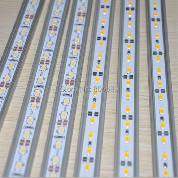 Aggressive 72pcs Dc12v 100meter/lot Led 18w 5630smd Rigid Light With U Or V Shape Aluminum Rigid Strip Ce&rohs Approved 2years Warranty