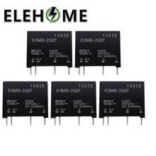 1PCS/2PCS Relay Module G3MB-202P G3MB 202P DC-AC PCB SSR