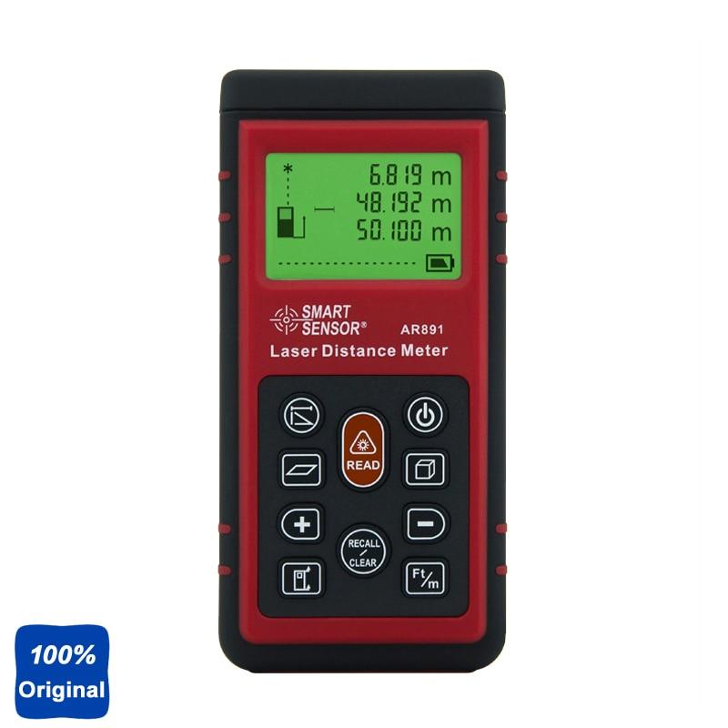 100% Original AR891 80m/262ft Digital Laser Distance Meter Range Finder Measure Diastimeter фея 891