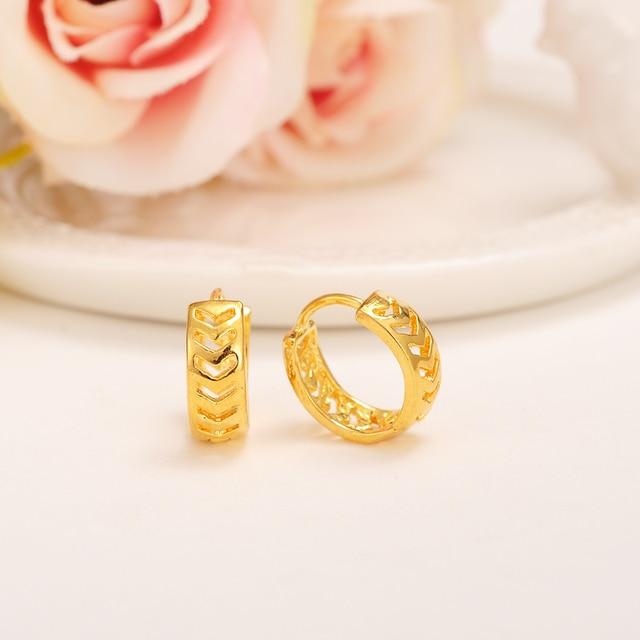 2pairs Baby S Small Circles Huggies Earrings Jewellery Aros Women Kids Jewelry African Best Gift