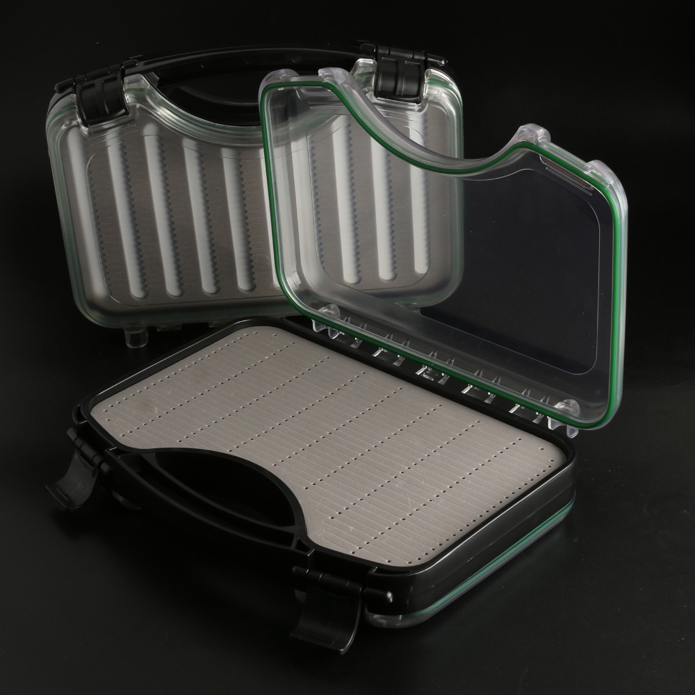 Waterpoof Fly Fishing Flies Boat Box Clear Fly Fishing Box