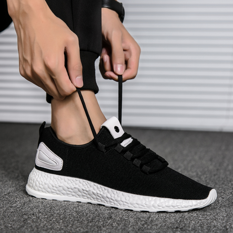 dd150b98e3e ... SocNoDn Autumn mens Soft Walking Breathable Light Sneakers Mens Fashion  Shoe Summer Male Casual trainer Footwear ...