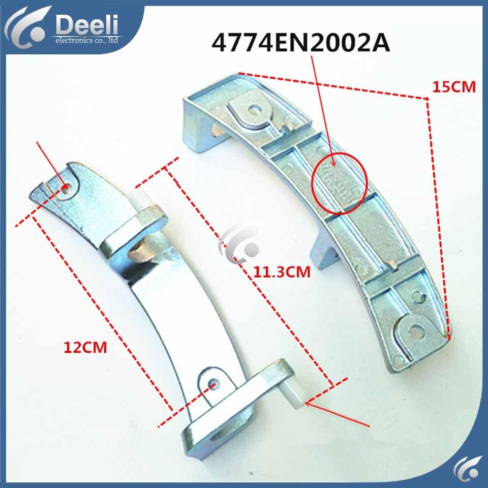 1pcs new for Washing machine parts Door hinge 4774EN2002A door hinge fittings WD-80180N good working new for washing machine parts b30 6a drain pump motor 30w good working