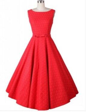 skater jurk rood