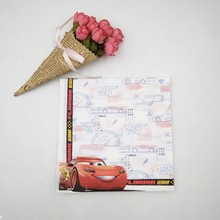 Birthday Party 10pcs/bag Cartoon Lightning Mcqueen Supplies Paper Napkin Decoration And