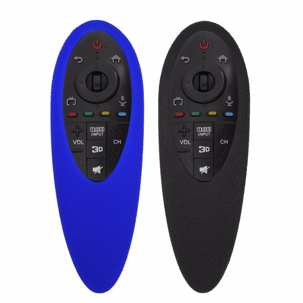 Dustproof Shockproof Protective Silicone Cover Case for LG AN-MR500g Remote control