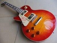 Nueva Llegada Zurdo C 1958 Estándar de la guitarra eléctrica guitarra Cherry Sunburst 110328