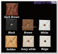 2015 New 12pcs 40 40CM High Quality Leather Acoustic Panels TV Room KTV Bedroom Living Room