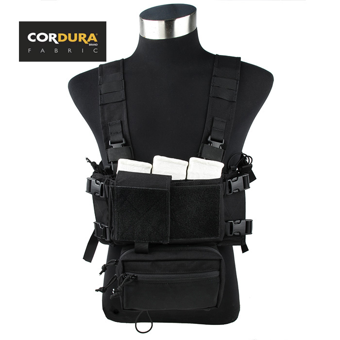 TMC Cordura SS Micro Combat Ultra Compact Low Profile Tactical Fight Chest Rig Combo SKU051148