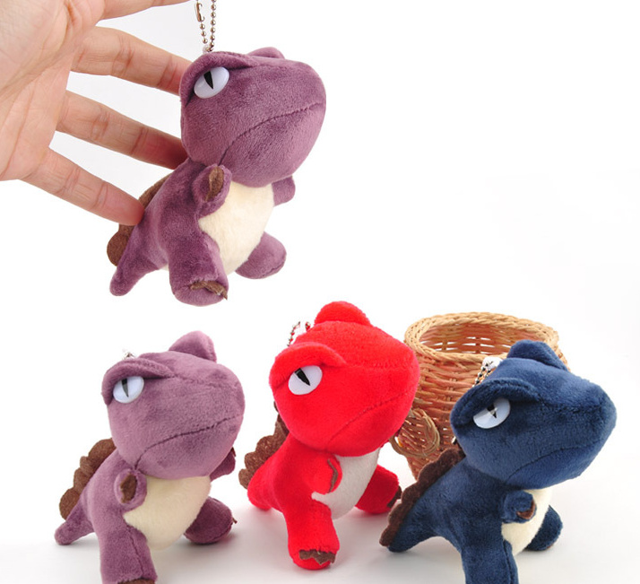 Cartoon Little Dragon Dinosaur Plush Toys For Children Mini Plush Toy Keychain Doll Decoration Pendant Random Color Woodworking Machinery & Parts
