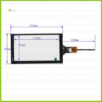 ZhiYuSun YDT8064-D 7 inch Capacitieve scherm Voor GPS AUTO 175mm * 100mm Touchsensor glas YDT8064-D