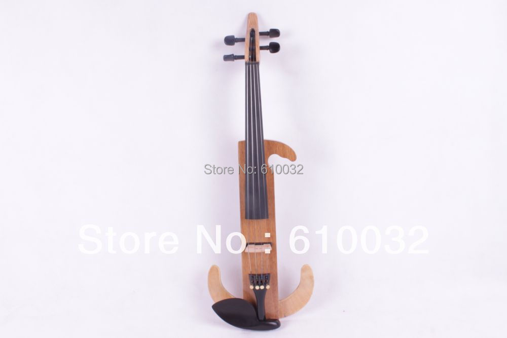 4/4 Electric Violin Solid wood 9 --29#  wood   color  4string one 4 string 4 4 violin electric violin acoustic violin maple wood spruce wood big jack green color