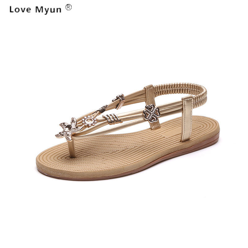 2017 Summer Fashion Unisex Lovers Women Sandals Flats Cork Gladiator Beach Shoes Slippers Zapatos Mujer Sandalias Plus Size785 summer high quality women flats sandals plus size 34 43 new fashion casual ladies sandalias comfort mujer gladiator woman shoes