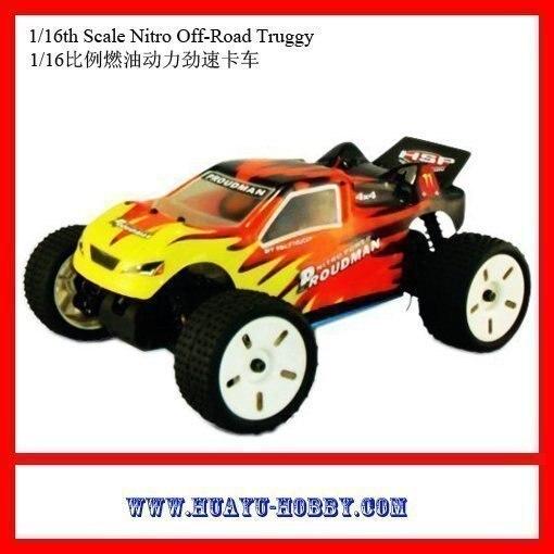 nitro car 1 16th 4WD Scale 7cxp nitro engine Off Road Truggy Toys 94283 RTR