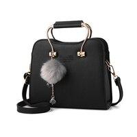 2018 Women Bag Small Square Bags Woman PU Leather Fashion Handbags Female Popular Solid Color Ladies