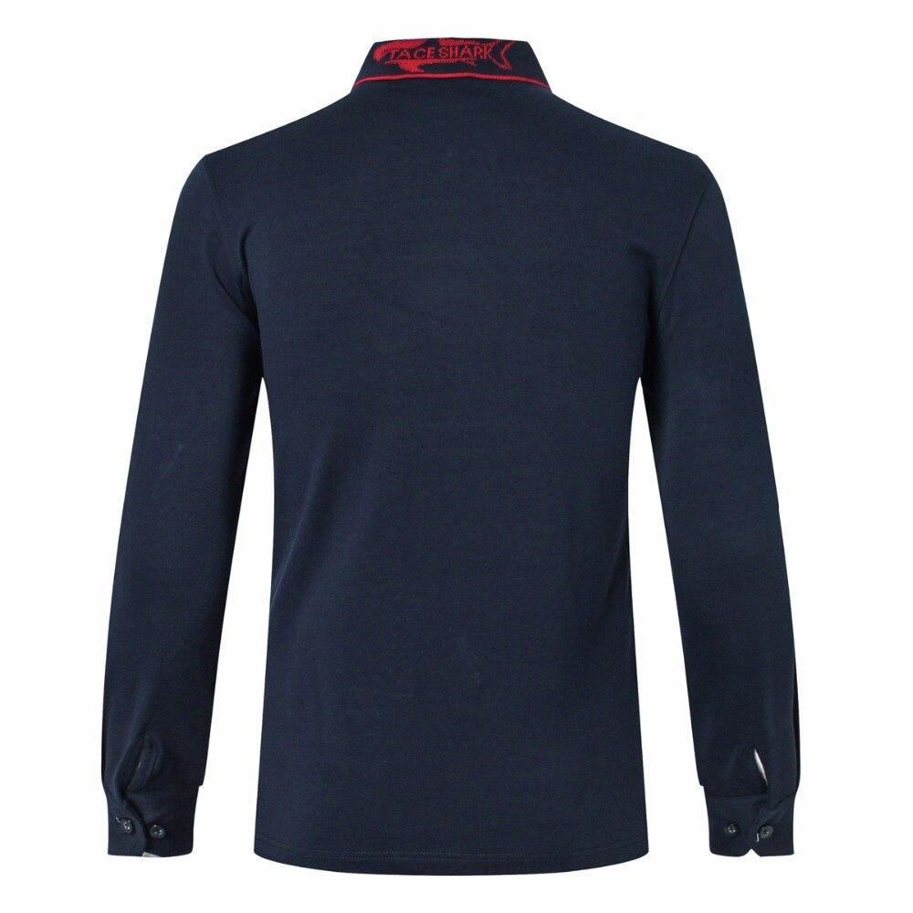 T shirt Tace & requin 2017 nouveaux produits hommes t shirt milliardaire revers broderie coton affaires décontracté à manches longues t shirt - 4