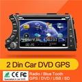 2 din 7 ''SSANGYONG Kyron/Actyon dvd player com GPS tela de toque, controle de volante, ipod, aparelho de som, rádio, usb, BT