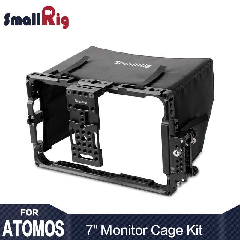 SmallRig Director s Monitor Cage for 7 ATOMOS Shogun Inferno and Flame Series with Free Sunhood