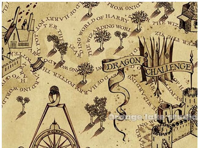 Harry Potter marauders map,cloth painting core,decorative ... on secret s map harry potter, map in game of thrones, map harry potter books, fictional map harry potter,