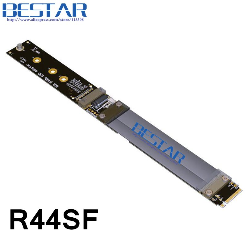 Gen3.0 32G/bps M.2 2230 2242 2260 2280 NGFF NVMe Key M SSD Riser adapter Card Extender Cable 10cm 20cm 30cm 60cm 80cm