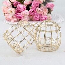 30 pcs/lot  Iron Birdcage candy of tinplate box / wedding decoration