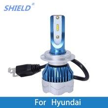 2Ps Car LED Headlight Kit H4 H7 led 9006 9005 H1 H3 CSP Chips For Hyundai Creta/IX35/Tucson/Solaris/Santa fe/Accent/Azera/Lantra салонная лампа 006 ix35 led