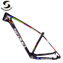 2018 new carbon mountain bike frame 29er 142*12 and 135*9mm both carbon bicycle frame with factory direct sell price