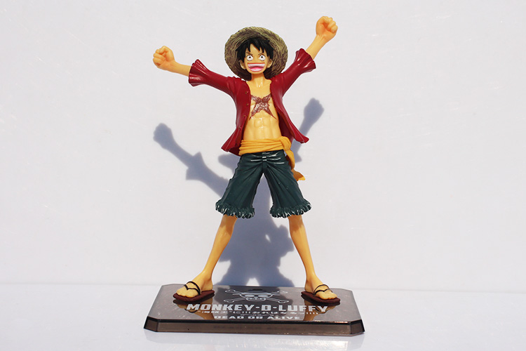 2020 <font><b>One</b></font> <font><b>Piece</b></font> 15cm <font><b>Luffy</b></font> After 2 Years THE NEW WORLD PVC Action Figure Collection Model Toy free shipping image