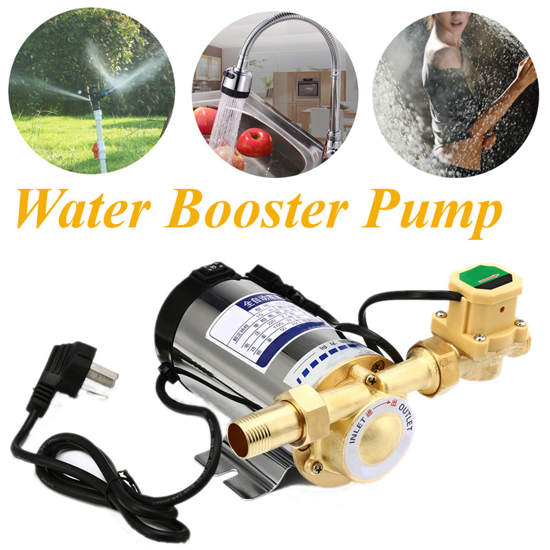 100W 150W Pipeline Pump Automatic Circulating Water Booster Pump 220V/50HZ Electric Pressure Pump Boosting Pump For Water Heater 220v automatic self priming boost pressure 100w household water heater circulating pump high pressure shower booster water pump