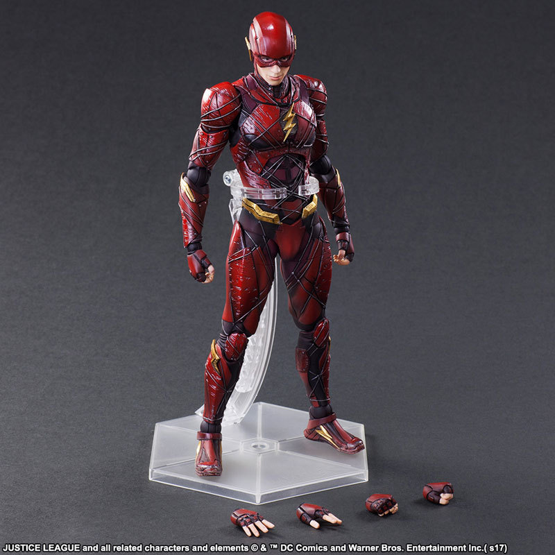 25CM Anime figure the avanger The Flash movable action figure collectible model toys for boys voyager class power of the prim terrorcons hun gurrr action figure classic toys for boys without retail box