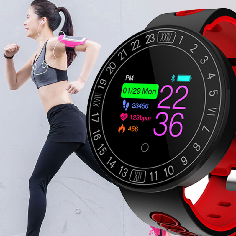 Fitness Smart Watch Sports Heart Rate Monitor Blood Pressure Waterproof Pedometer Bluetooth Smartwatch Men Women For Android IOS цена
