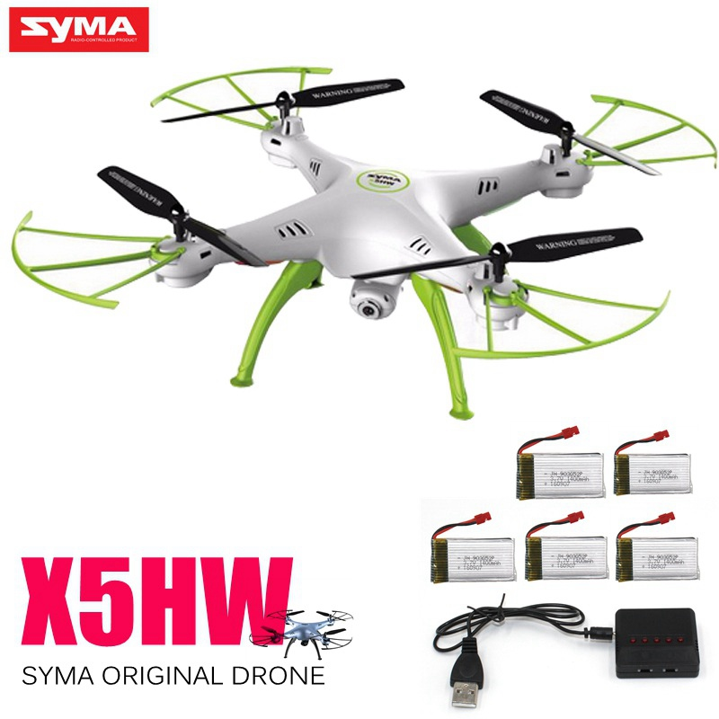 Original Syma X5hw Rc Drone With Camera Fpv Drone 6-axis Rc Helicopter Wifi 4ch Quadcopter Toys For Children Helicoptero Dron
