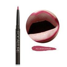 FOCALLURE водостойкий Матовый жидкий карандаш для губ, карандаш для макияжа губ, водостойкий Красочный косметический карандаш для губ, легко носить