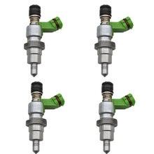 100% оригинал 4 шт (набор) топливный инжектор для Toyota RAV4 Avensis 2AZFSE 2.4L 23250 28070 23209 28070