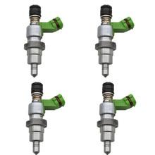 100% orijinal 4 adet (SET) yakıt enjektörü için RAV4 Avensis 2AZFSE 2.4L 23250 28070 23209 28070